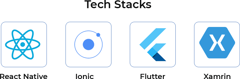Cross platform App Development Tech Stack