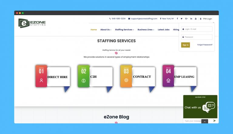 EZone Staffing - Case study